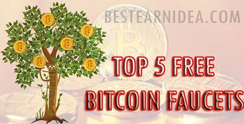 Top 5 Free Bitcoin Faucets