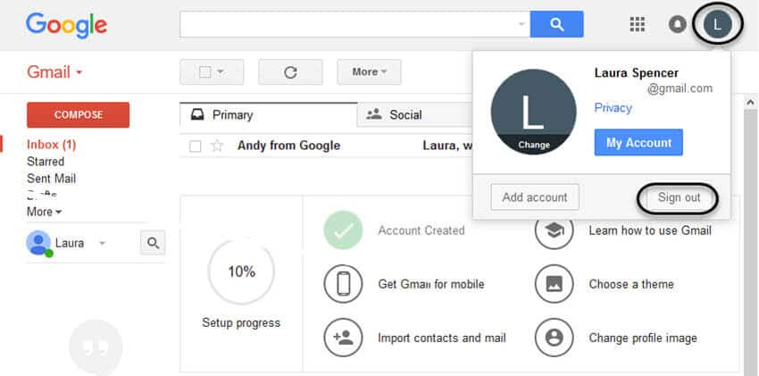 how to create new gmail account video