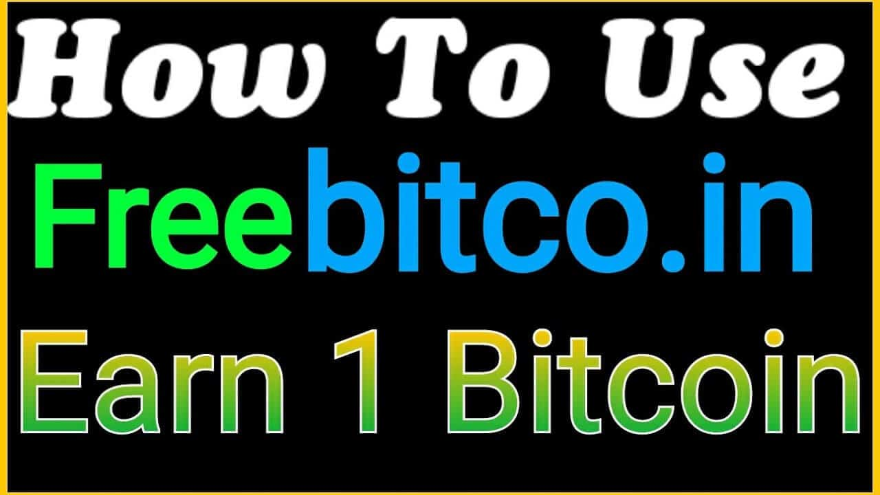 Earn Free Bitcoin From Freebitco.in