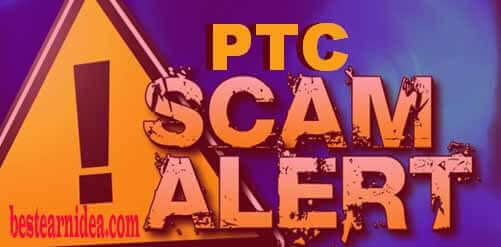 Scam Alert 2017!! PTC and Revenue Share Site Listed here Not Paying 2017