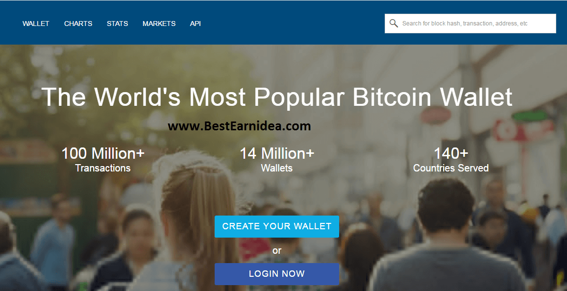 blockchain create your wallet
