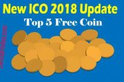 New ICO 2018 Update 5 Free Coin Site...