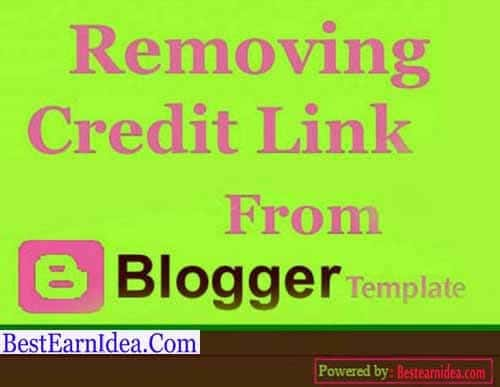 Remove Footer Credit Links