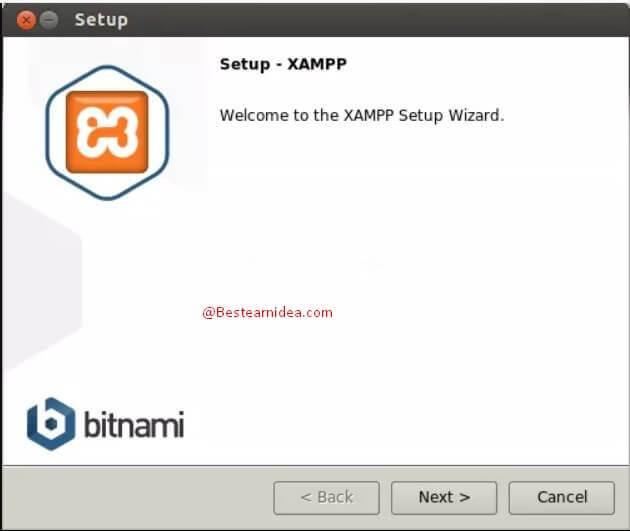 xampp setup bd