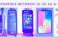 1G,2G,3G,4G & 5G কিভাবে এলো?