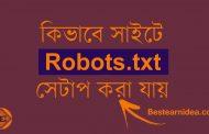 Robots.txt ফাইল কী? রোবট ডট টেক্সট ফাইল