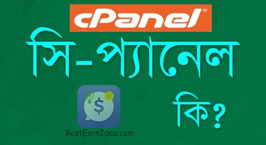 সি-প্যানেল কি (C-Panel) What is Cpanel ?